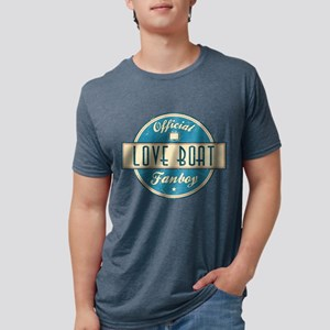 Official Love Boat Fanboy Mens Tri-blend T-Shirt