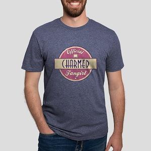 Official Charmed Fangirl Mens Tri-blend T-Shirt