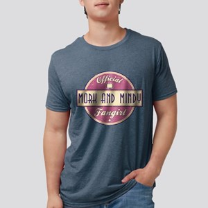 Official Mork and Mindy Fangi Mens Tri-blend T-Shi