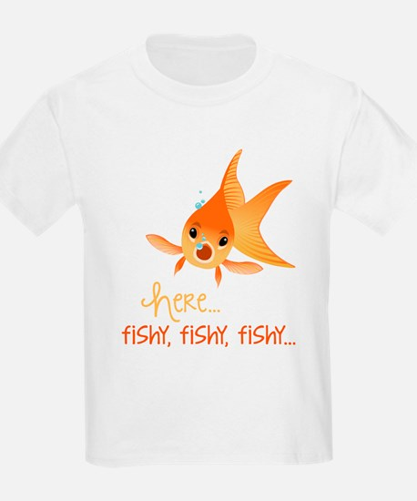 Here Fishy T-Shirt