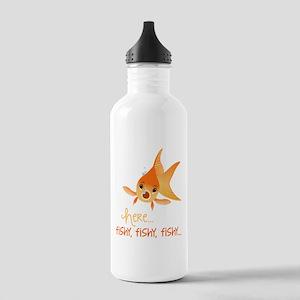 Here Fishy Water Bottle