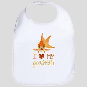 I Love My Goldfish Bib