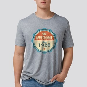 Awesome Since 1926 Mens Tri-blend T-Shirt