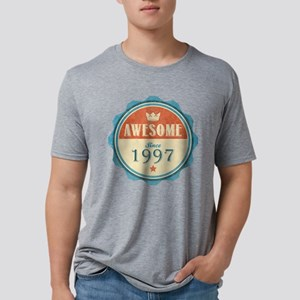 Awesome Since 1997 Mens Tri-blend T-Shirt