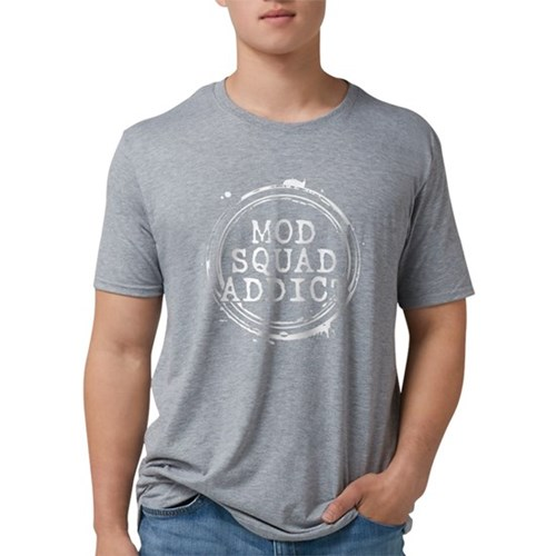 Mod Squad Addict Mens Tri-blend T-Shirt