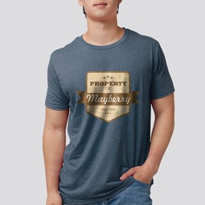 Property of Mayberry Mens Tri-blend T-Shirt
