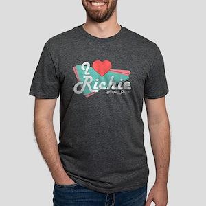 I Heart Richie Mens Tri-blend T-Shirt