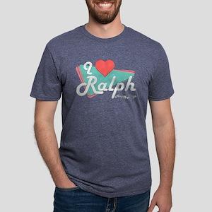 I Heart Ralph Mens Tri-blend T-Shirt