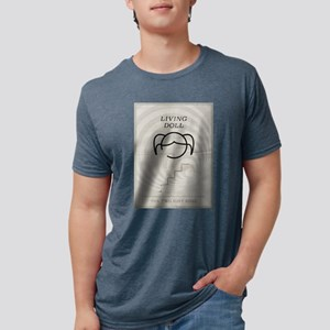 Living Doll Minimal Poster Mens Tri-blend T-Shirt