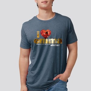 I Heart Emma Slater Mens Tri-blend T-Shirt