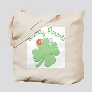 Lucky Parents Tote Bag