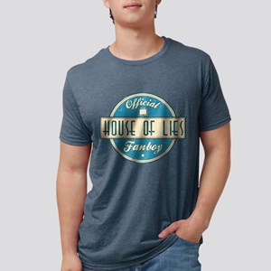 Offical House of Lies Fanboy Mens Tri-blend T-Shir