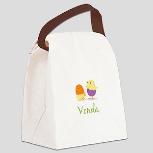 Easter Chick Vonda Canvas Lunch Bag