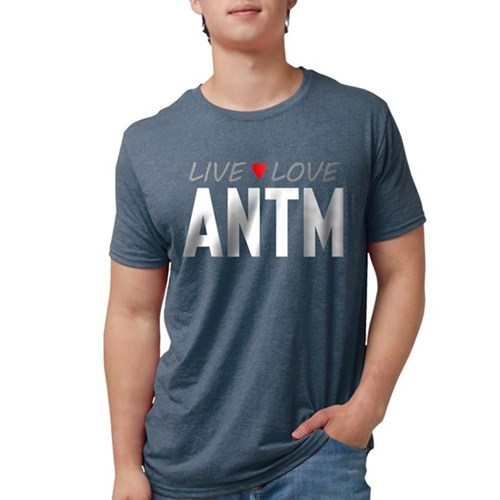 Live Love ANTM Mens Tri-blend T-Shirt