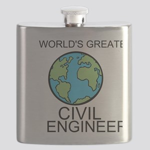Worlds Greatest Civil Engineer Flask