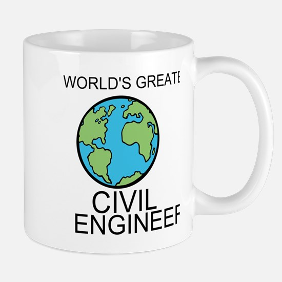 Worlds Greatest Civil Engineer Mug