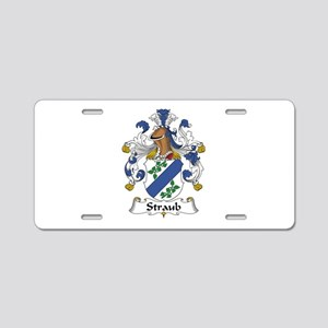 Straub Aluminum License Plate