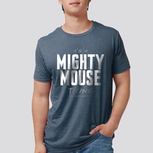 It's a Mighty Mouse Thing Mens Tri-blend T-Shirt
