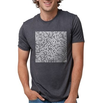 Graphical Pi Visualization Mens Tri-blend T-Shirt