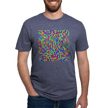 Rainbow Pi Visualization Mens Tri-blend T-Shirt