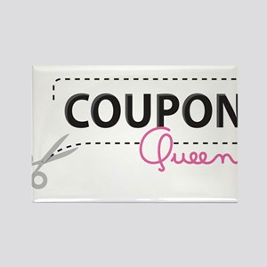 Coupon Queen Rectangle Magnet