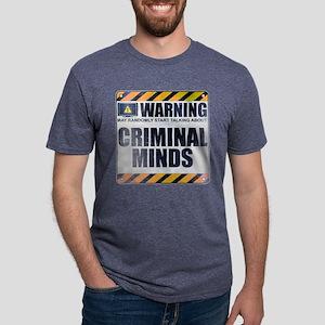Warning: Criminal Minds Mens Tri-blend T-Shirt