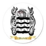 Bayfield Round Car Magnet