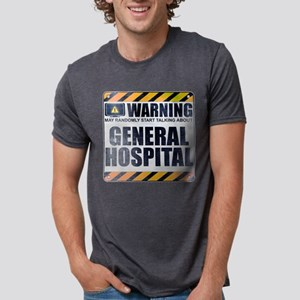 Warning: General Hospital Mens Tri-blend T-Shirt