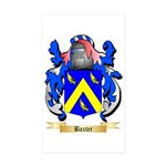 Baxter Sticker (Rectangle 50 pk)