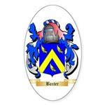 Baxter Sticker (Oval 10 pk)