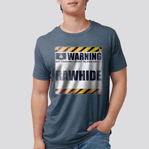Warning: Rawhide Mens Tri-blend T-Shirt