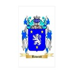 Bawcutt Sticker (Rectangle 50 pk)