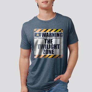 Warning: The Twilight Zone Mens Tri-blend T-Shirt
