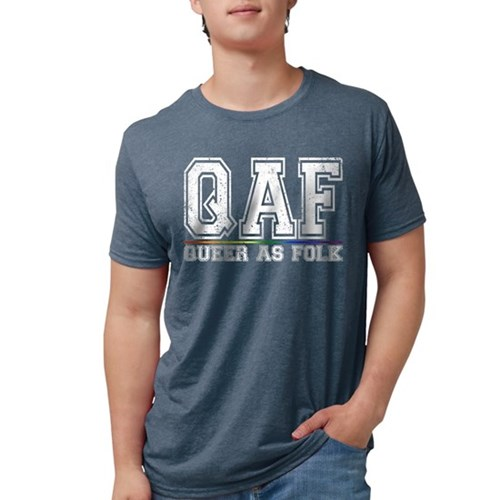 QAF Queer as Folk Mens Tri-blend T-Shirt