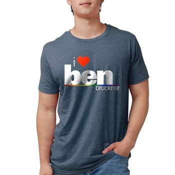 I Heart Ben Bruckner Mens Tri-blend T-Shirt