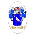 Bavins Sticker (Oval)