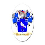 Bavins 35x21 Oval Wall Decal