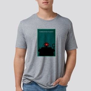 Forbidden Planet Minimal Po Mens Tri-blend T-Shirt