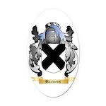 Bauwens Oval Car Magnet