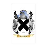 Bauwens Sticker (Rectangle 50 pk)