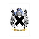 Bauwen Sticker (Rectangle 50 pk)