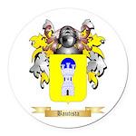 Bautista Round Car Magnet