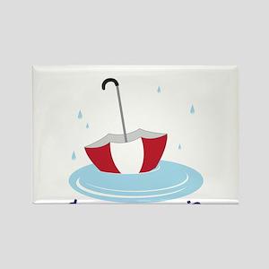 Dance in the Rain Rectangle Magnet