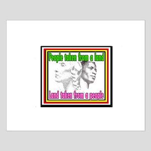 Black American Native American Posters