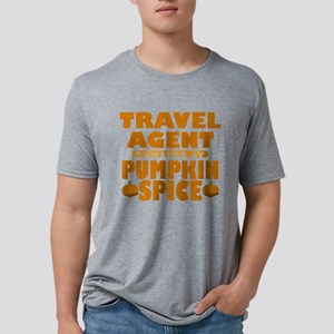Travel Agent Powered by Pumpkin Spice Mens Tri-ble
