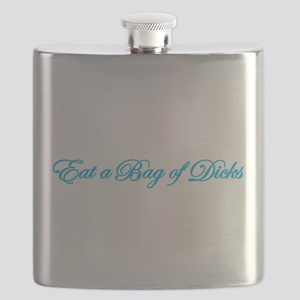 Eat A Bag Of Dicks Flask