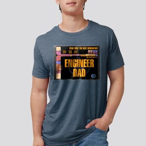 Engineer Dad Mens Tri-blend T-Shirt