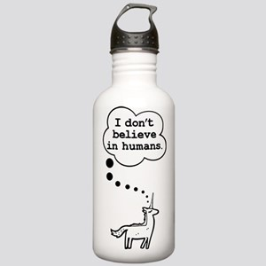 I dont believe in humans Water Bottle