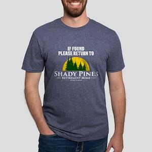 Return to Shady Pines Mens Tri-blend T-Shirt