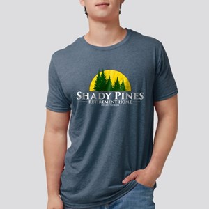 Shady Pines Logo Mens Tri-blend T-Shirt